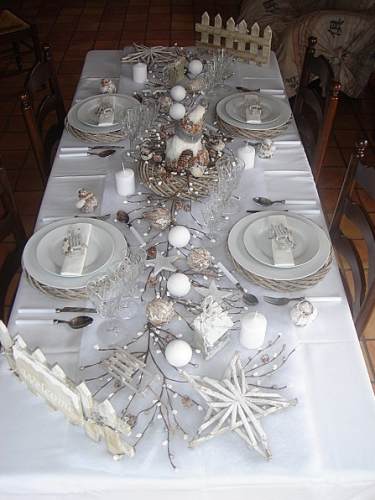 Ma d co de table pour no l ladecodekatia Une deco de table de noel